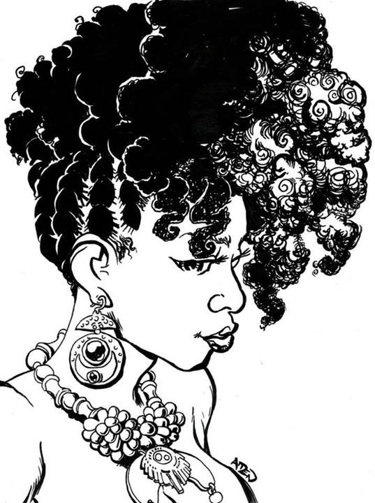 I Love My Natural Hair Art
