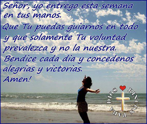 bendice cada dia Dios