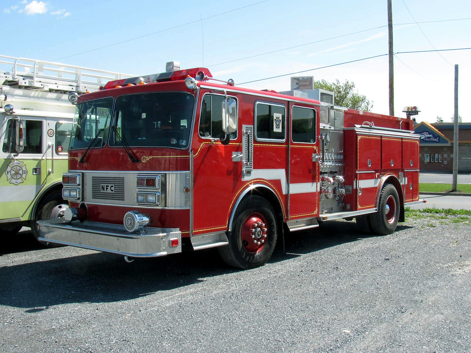 Used Fire Trucks : Used fire trucks and apparatus for sale line