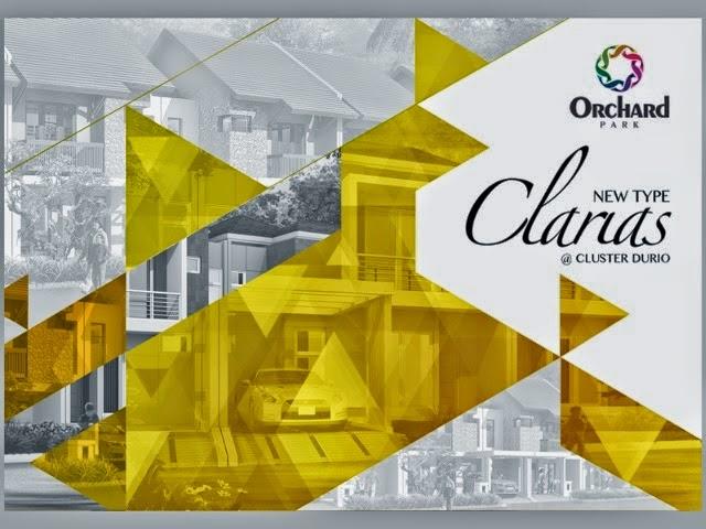 Rumah Tipe Clarias Cluster Durio Orchard Park Batam