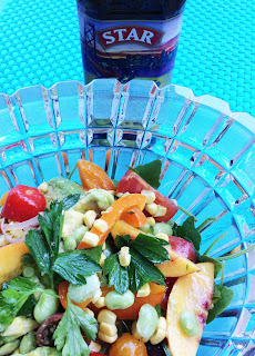 Summer Vegetable Lime Salad