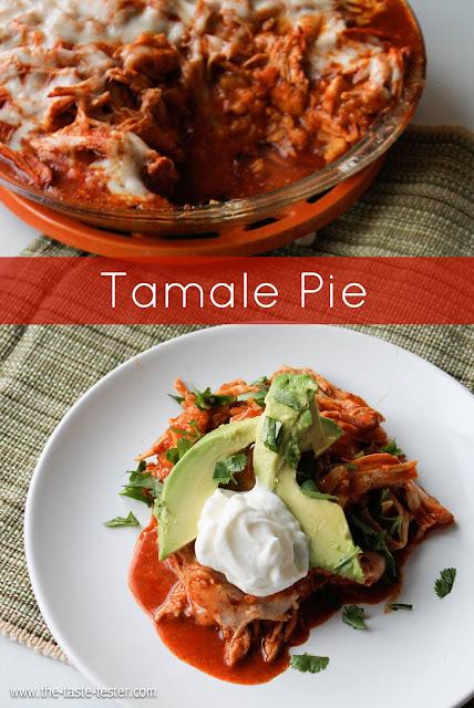 Tamale Pie #recipe #dinner www.the-taste-tester.com