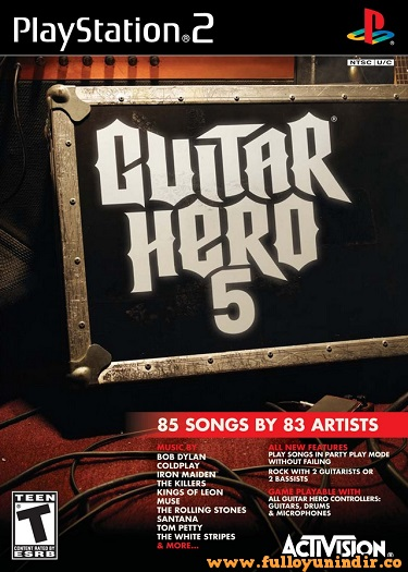 Guitar Hero 5 PAL Playstation 2 Tek Link