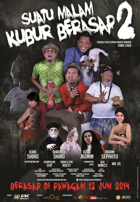 Suatu Malam Kubur Berasap 2 (2014) - Full Movie