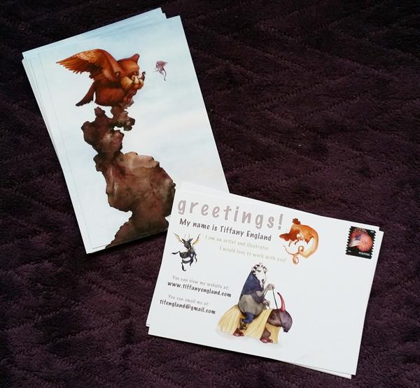 Illustrator Postcards by GotPrint.com