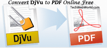 djvu to pdf online