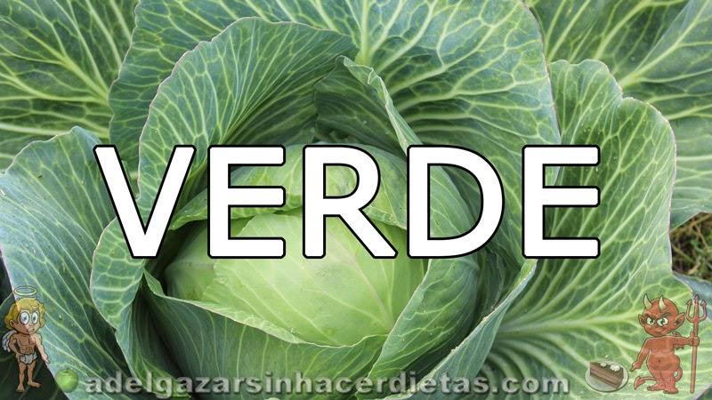 Beneficios de los vegetales según su color - Verde