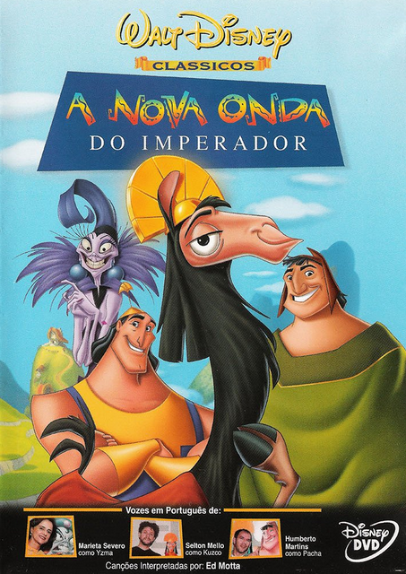 Filme A Nova Onda do Imperador Dublado AVI DVDRip