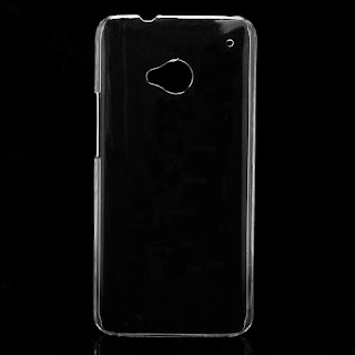 Clear Crystal Case Hard Protective Cover for HTC One M7 801e