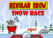 juegos Regular Show Snow Race