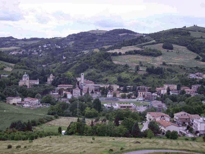 Predappio Panoramic View, province Forli - Cesena, Italy