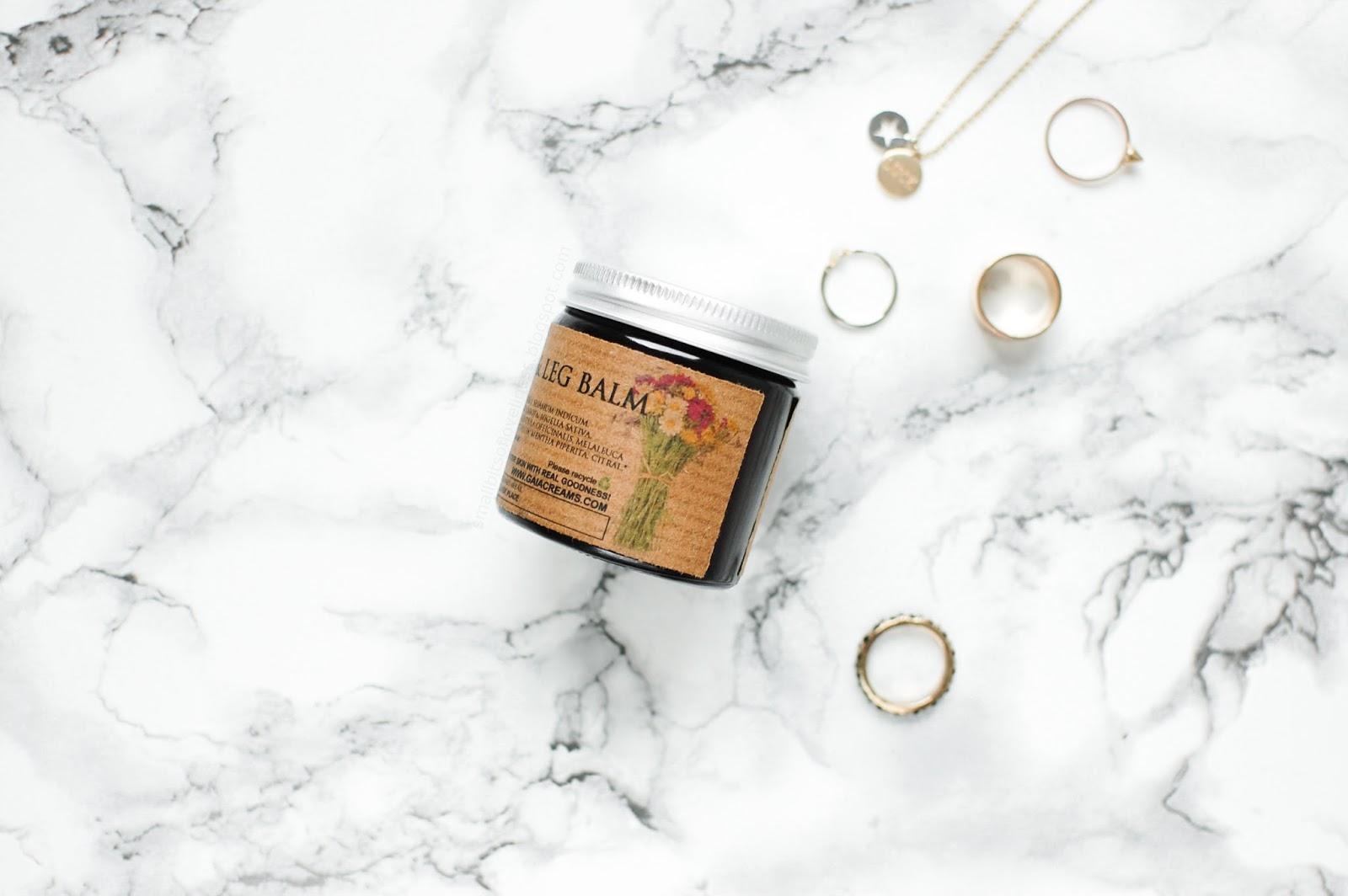 Gaia Creams Gorgeous Foot & Leg Balm, organic & vegan