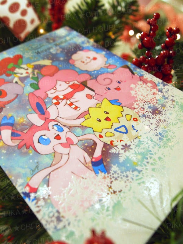 Things To Do In Los Angeles: Pokemon Christmas Card 2014