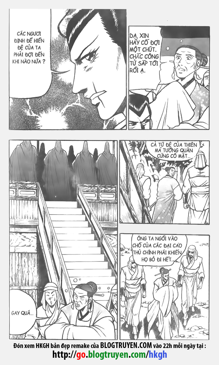 Hiệp Khách Giang Hồ - Hiệp Khách Giang Hồ Chap 055 - Pic 10