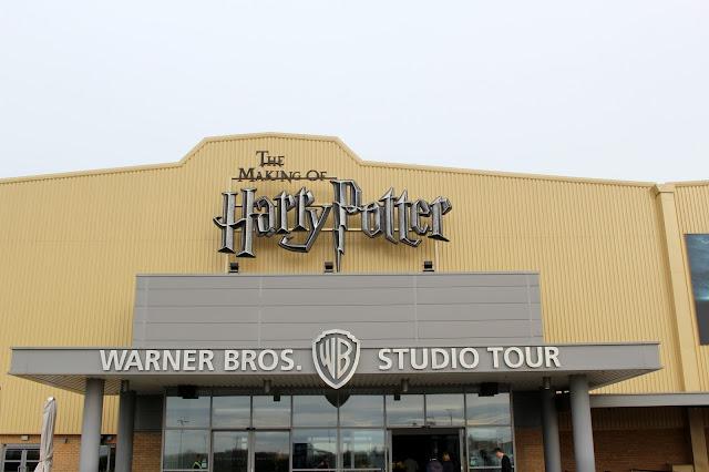 Harry potter Studios snow making of tour London