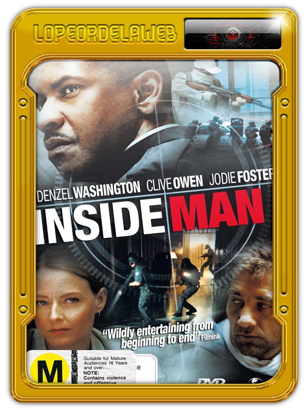 Inside Man (El Plan Perfecto) (2006) [720P-Dual-Mega]
