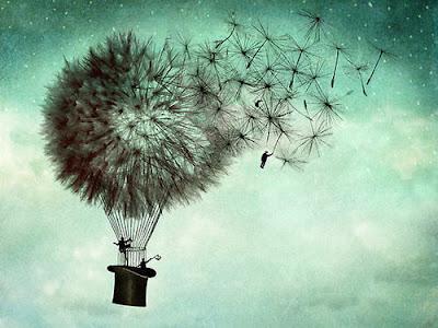 dandelions, dandelion tattoo, taraxacum officinale, the dandelion, The Early History of Balloon Flight