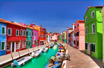 Burano in the Huffington Post