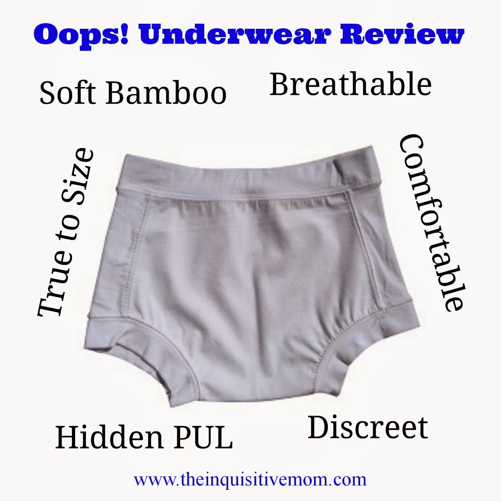Oops! Undies for Your Newly Potty Trained Child