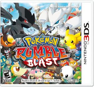Pokemon Rumble Blast USA 3DS GAME [.3DS]