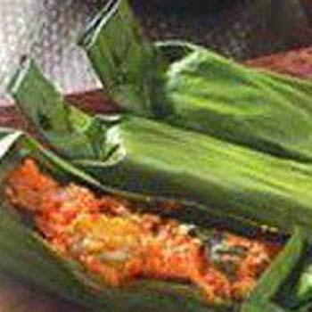 resep pepes ikan tongkol pedas, pepes tongkol bakar, cara membuat pepes ikan tongkol, pepes tongkol bakar