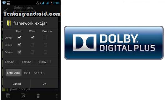 Cara Intall Dolby® Digital Plus di Smartfren Andromax C JB