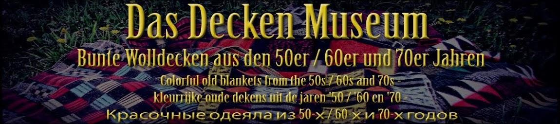 Das Wolldecken Museum - Bunte Wolldecken aus den 50er / 60er und 70er Jahren
