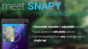 Toma excelentes fotografías con Snapy