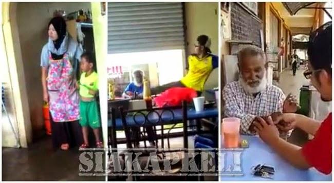 Netizen Tampil Dedah Cerita Sebenar Lelaki Pukul Warga Emas
