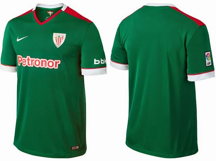 jersey Atletico Bilbao away terbaru 2014/2015