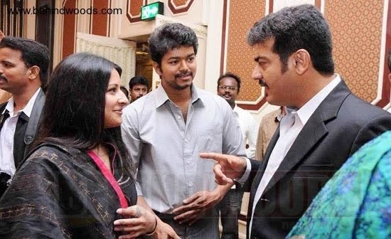 Vijay And Ajith Friendship