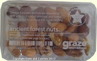 Graze box snack - Ancient Forest Nuts