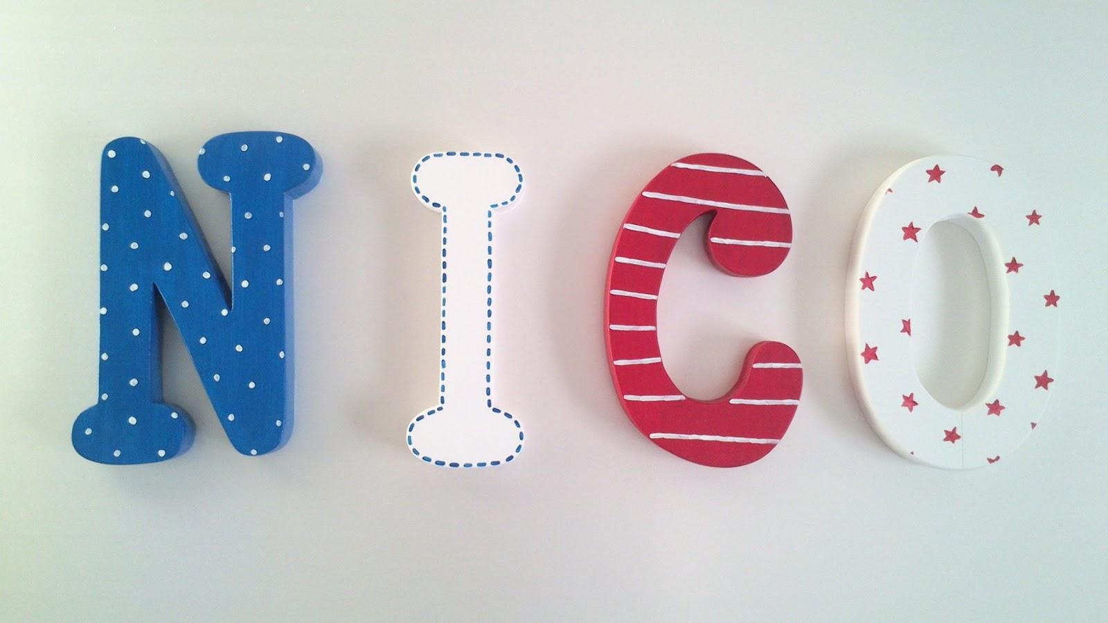 Letras decorativas y mucho m s - Letras decorativas para ninos ...