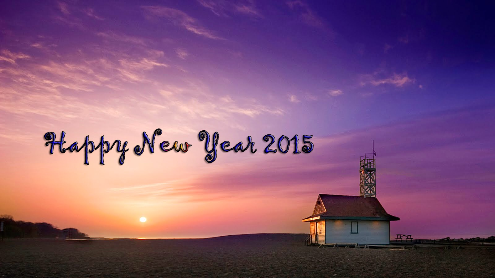 Happy New Year 2015 - Facebook Cover Photos