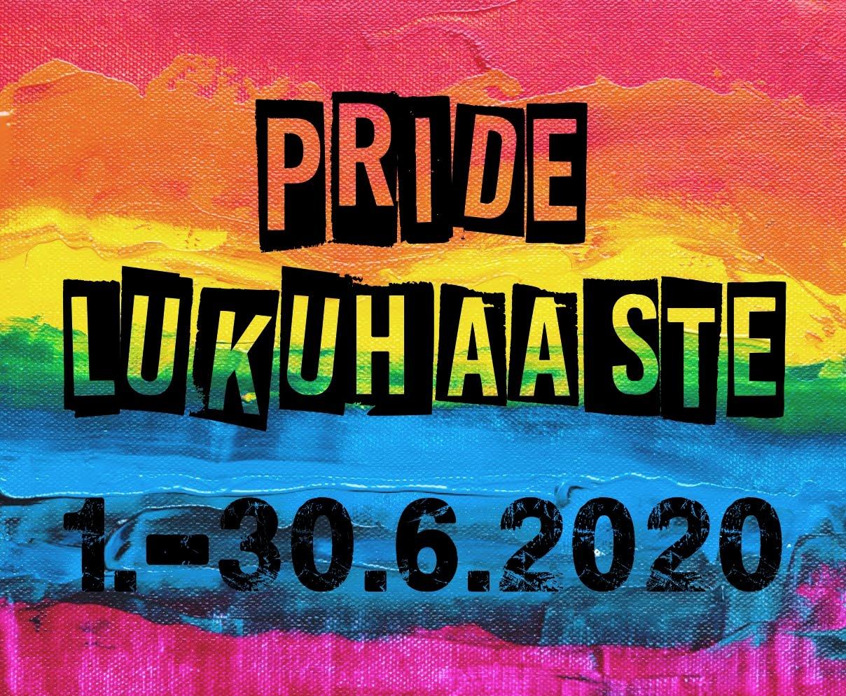 Pride-lukuhaaste 1.-30.6.2020