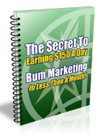 150$ A DAY WITH BUM MARKETING SECRETS