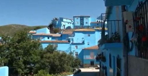 Júzcar - Espanha - azul