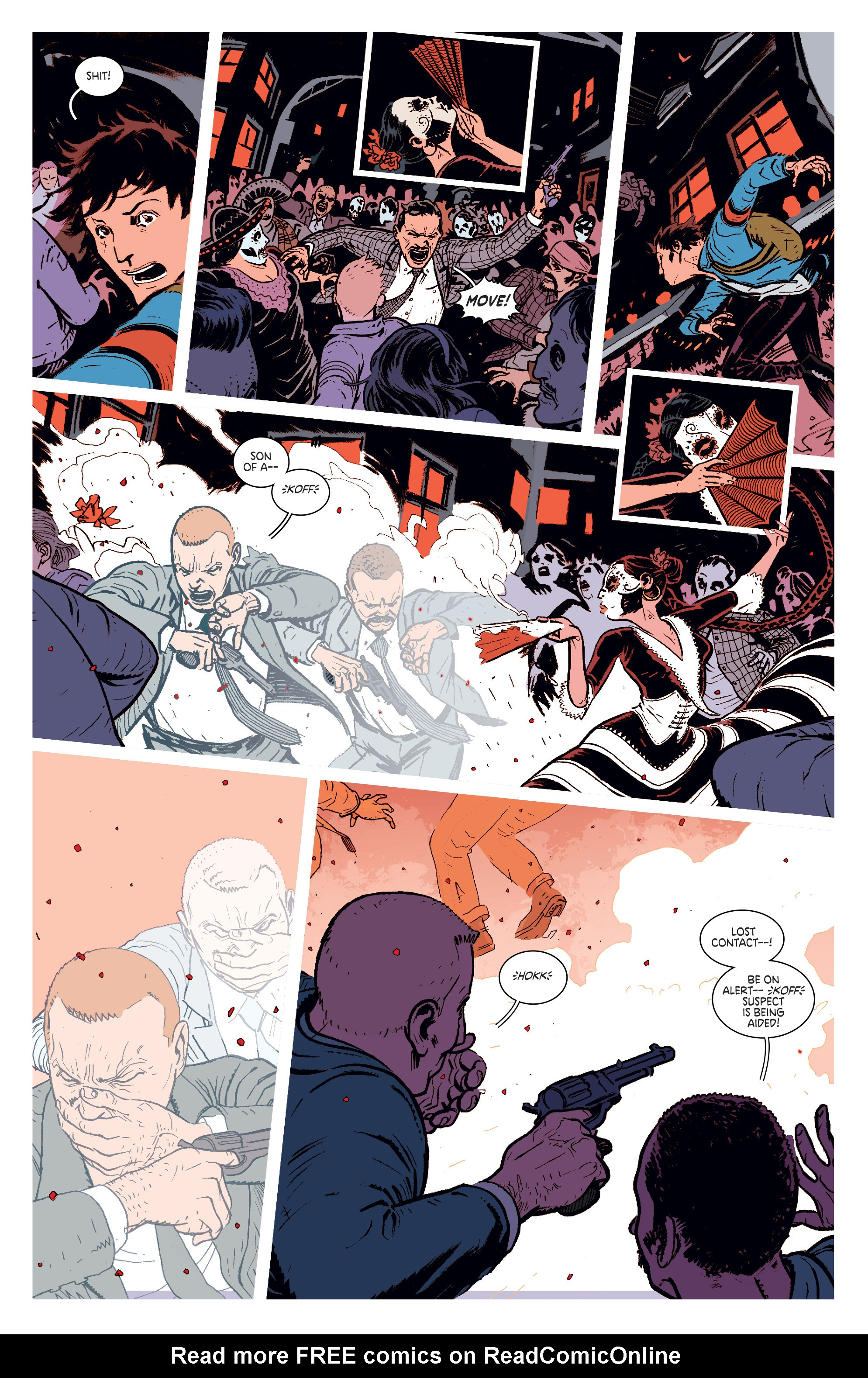 Read online Deadly Class comic -  Issue #1 - 13