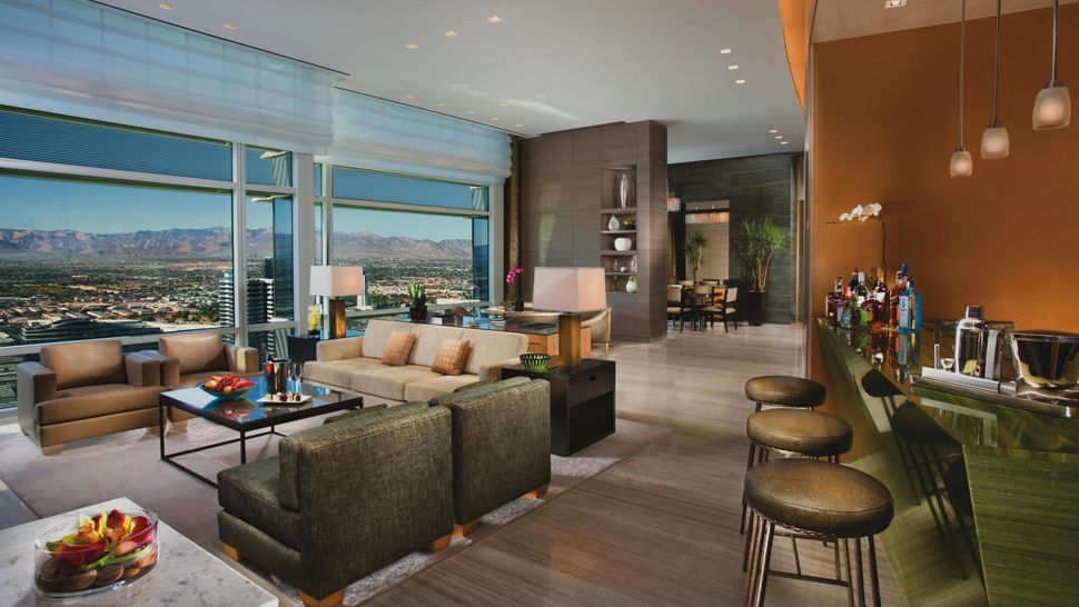Aria Sky Suites Las Vegas Indonesian Passions For Luxury