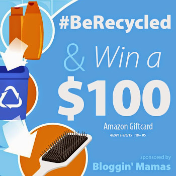 #BeRecycled $100 Amazon GC Giveaway