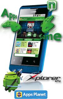 harga ponsel android dual sim Nexian Explorer A712 wifi