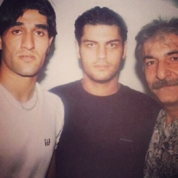 Amazing Pic: Pejman Jamshidi And Sam Derakhsani old pic