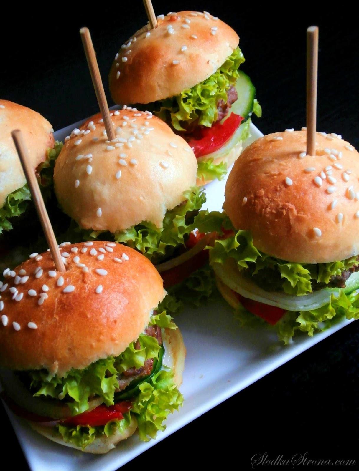 hamburgery dla dzieci na kinderbal