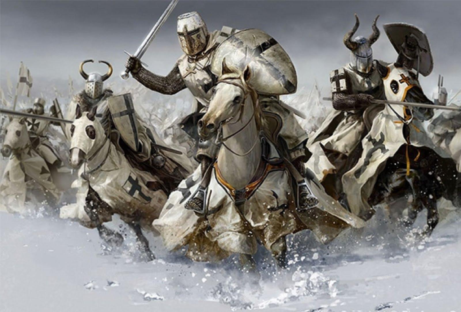 Схватки древних воинов