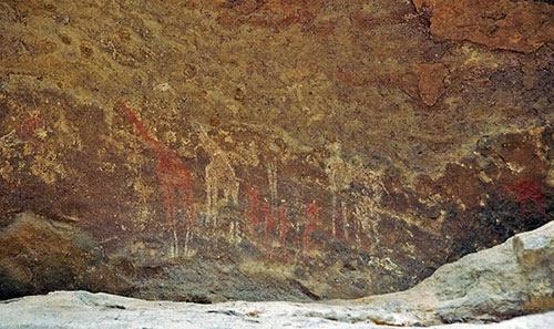 اكتشاف آلاف المواقع الأثرية جنوب الجزائر