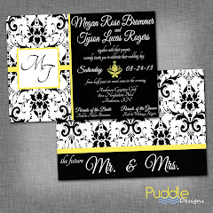 Bridal Shower and Wedding Invitations