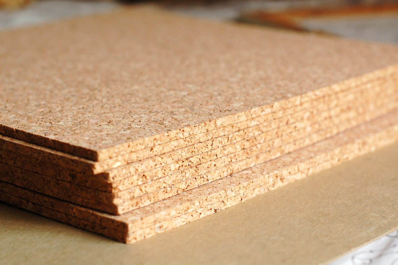 diy old framenew cork board - Cork Board Tiles