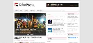 EchoPress Blogger Template Free Download For New's And Tech Related Blogger Blog's