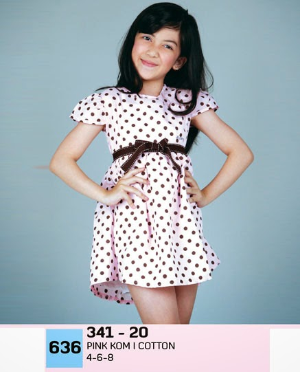 DRESS ANAK POLKADOT