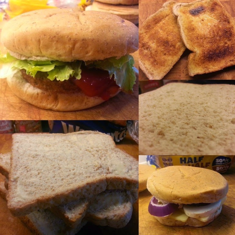 Warburtons half and half bread and rolls selection
